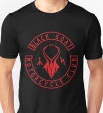 Sinister Grin Press Black Goat Motorcycle Club Unisex T-Shirt