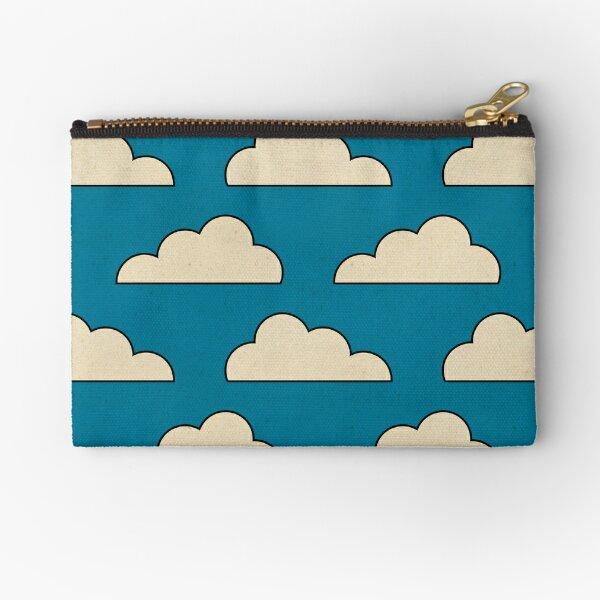 Cartoon Clouds Zipper Pouch