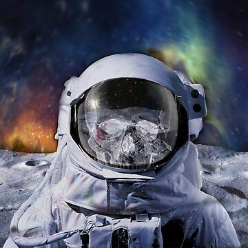 Astro Blur w/ skull - Galaxy Beyond  by GalaxyBeyond
