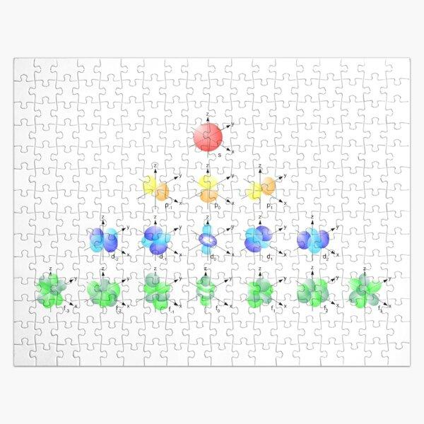 Hydrogen Atom Wave function Jigsaw Puzzle