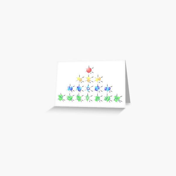 Hydrogen Atom Wave function Greeting Card