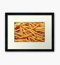 French Fries Framed Print
