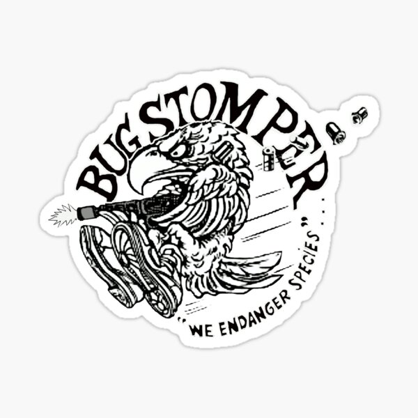 USCM BUG STOMPER Sticker