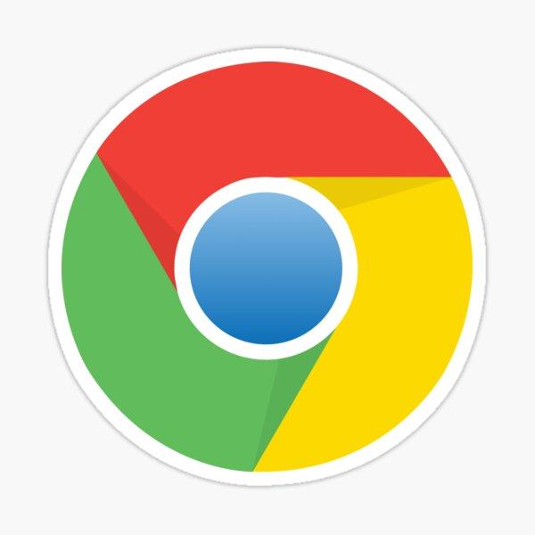 Google Chrome Logo Icon Gift for Google Chrome fan Sticker
