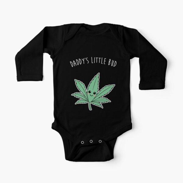 Daddy's Little Bud - Onesie Long Sleeve Baby One-Piece