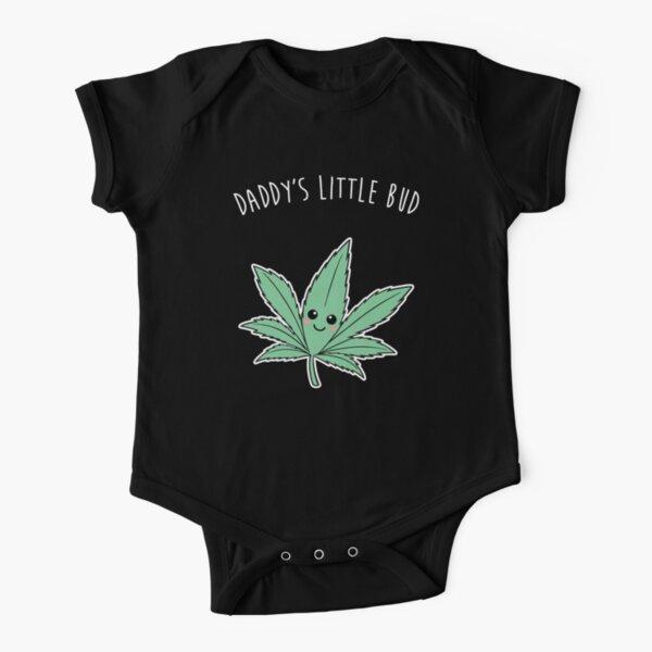 Daddy's Little Bud - Onesie Short Sleeve Baby One-Piece