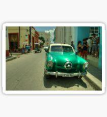 Green Studebaker  Sticker