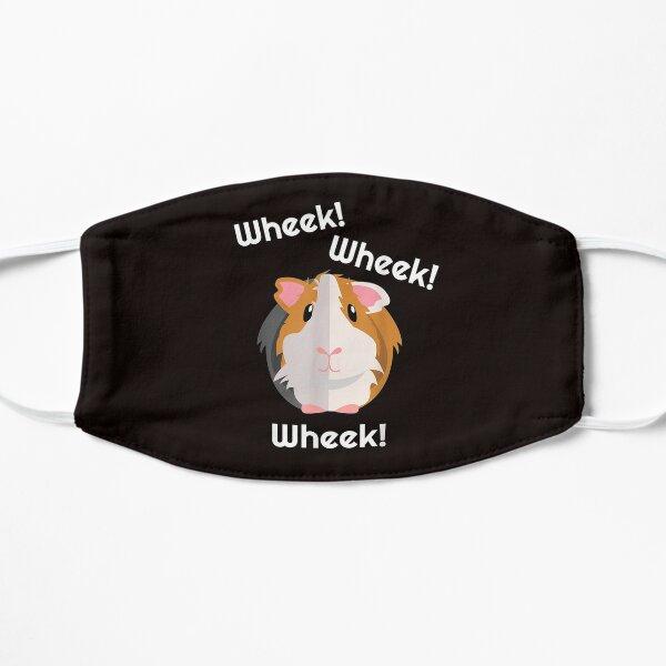 Cute & Funny Wheek Guinea Pig Owner Cavy Lover Flat Mask