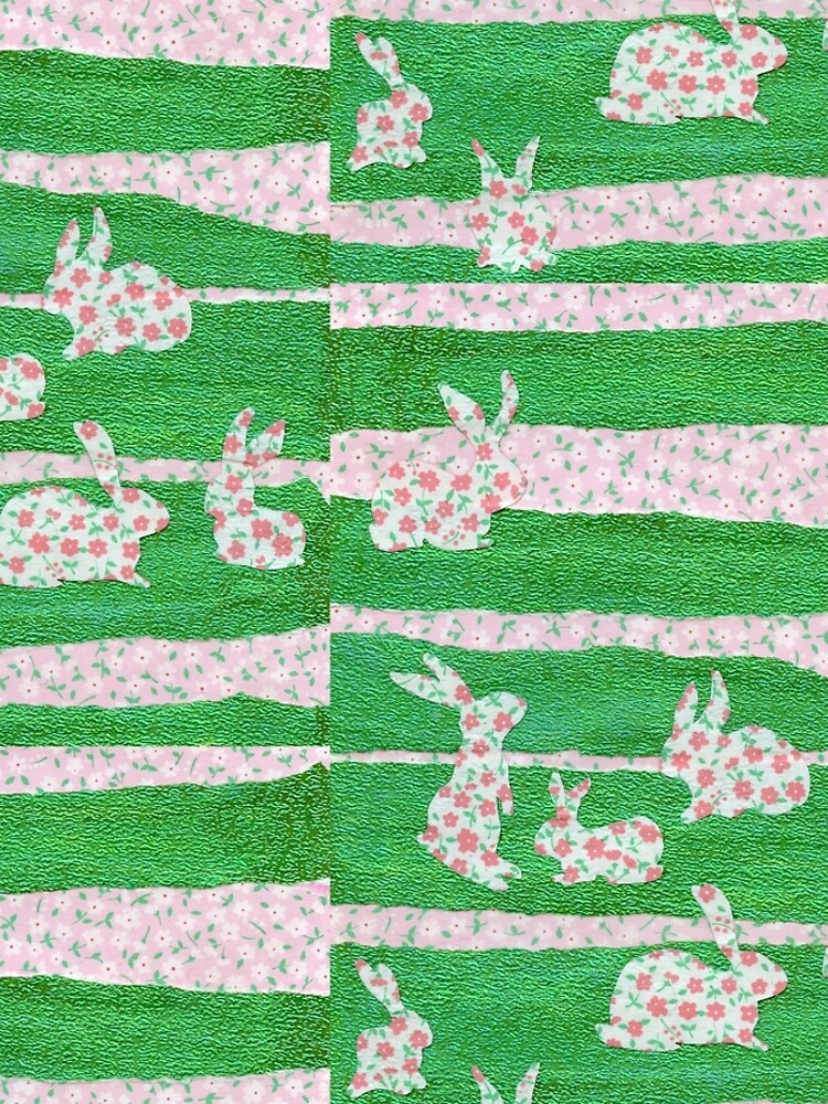 Bunnies in the Clover  by QWERTYvsDVORAK