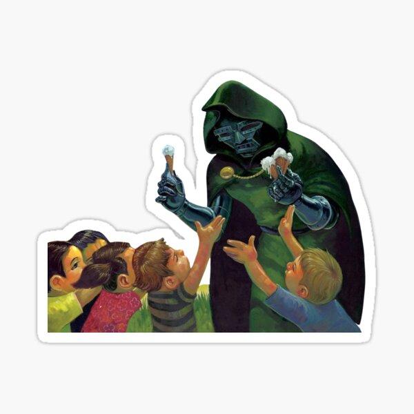 MF DOOM Madvillain Sticker