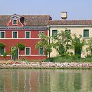 Burano Venice by sharon wingard