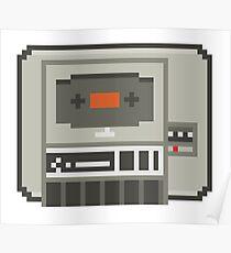 Commodore 64 Datasette Tape Recorder Poster