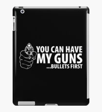 bullet first iPad Case/Skin