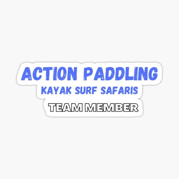 Action Paddling Team Member Sticker