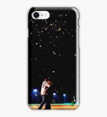Mulder and scully baseball under the stars iPhone Case/Skin