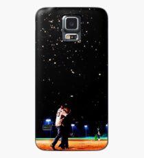 Mulder und Scully Baseball unter den Sternen Hülle & Klebefolie für Samsung Galaxy