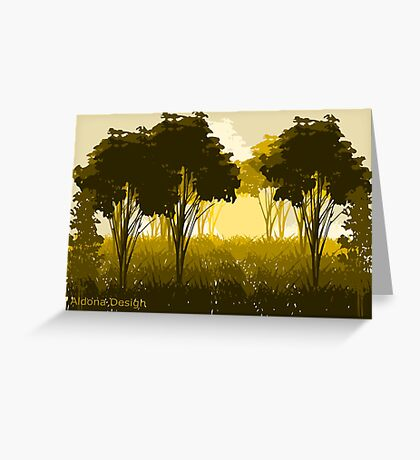 A scenery (3267 Views) Greeting Card