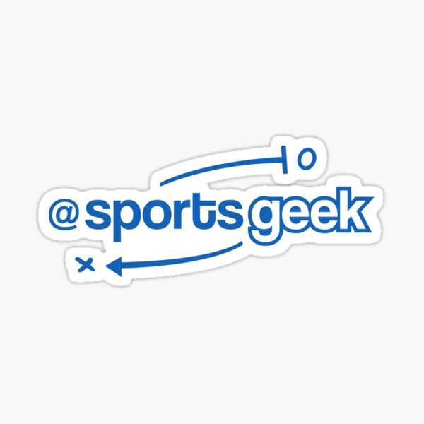 Sports Geek Playbook - Blue Sticker