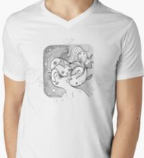 Underwater Randomness Mens V-Neck T-Shirt