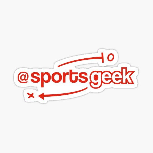 Sports Geek Playbook - Red Sticker