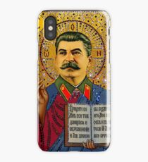 Stalin like GOD iPhone Case