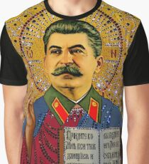 Stalin like GOD Graphic T-Shirt