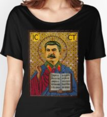 Stalin like GOD Women's Relaxed Fit T-Shirt