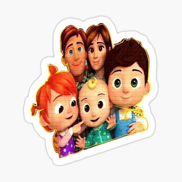 Colección de personajes de Baby Nursery Cocomelon 2020 Pegatina