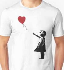 Banksy Heart - ONE:Print T-Shirt