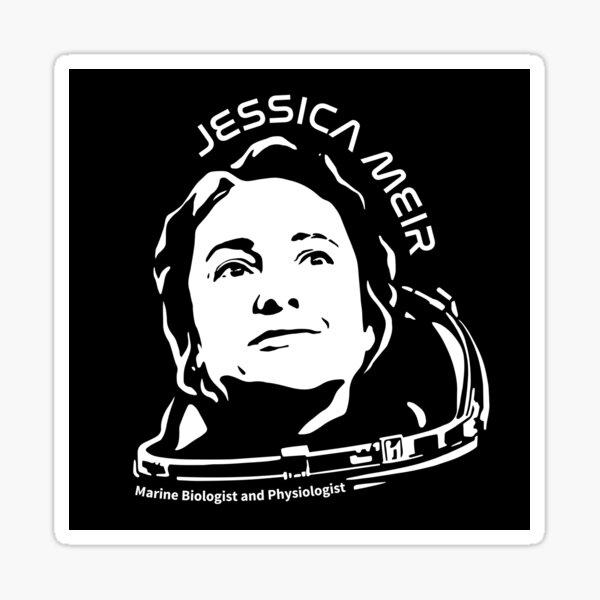 Women in Space: Jessica Meir Sticker