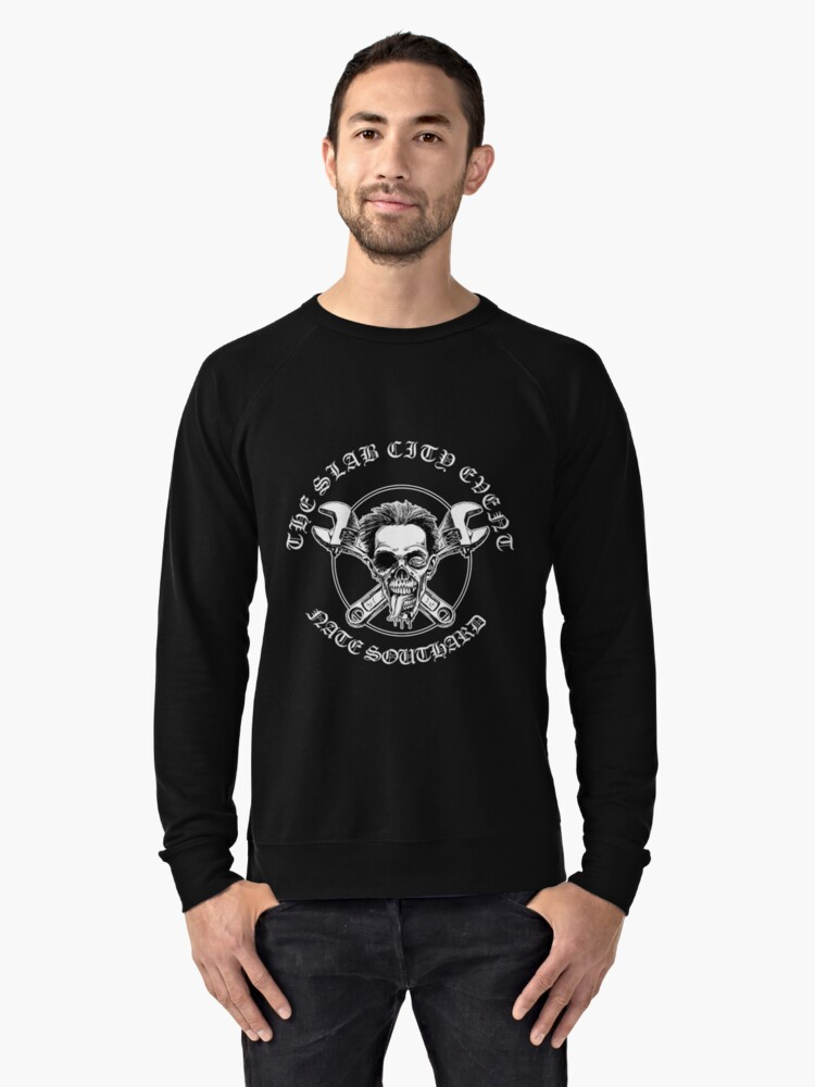 Sinister Grin Press The Slab City Event Lightweight Sweatshirt Front