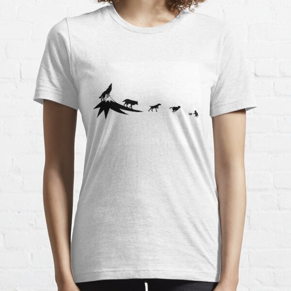 The evolution of the dog Essential T-Shirt