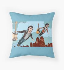 Flight Of The Conchords - Flying Throw Pillow