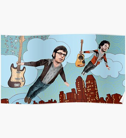 Flight Of The Conchords - Flying Poster