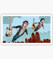 Flight Of The Conchords - Flying Sticker
