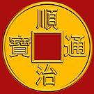 Coin of Emperor Shunzhi by Kawka