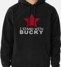 I Stand With Bucky Pullover Hoodie