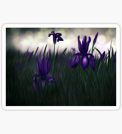 Iris - iris Sticker