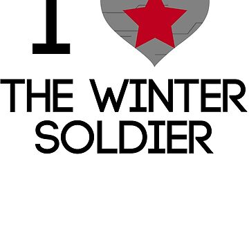 I Heart The Winter Soldier v2 by helterskelterxo