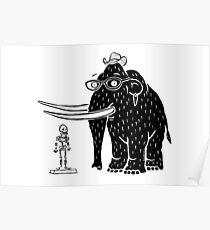 Frozen Mammoth Poster
