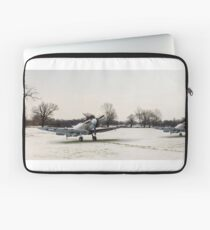 Spitfires in the snow Laptop Sleeve