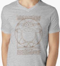 Vitruvian Neighbor V-Neck T-Shirt