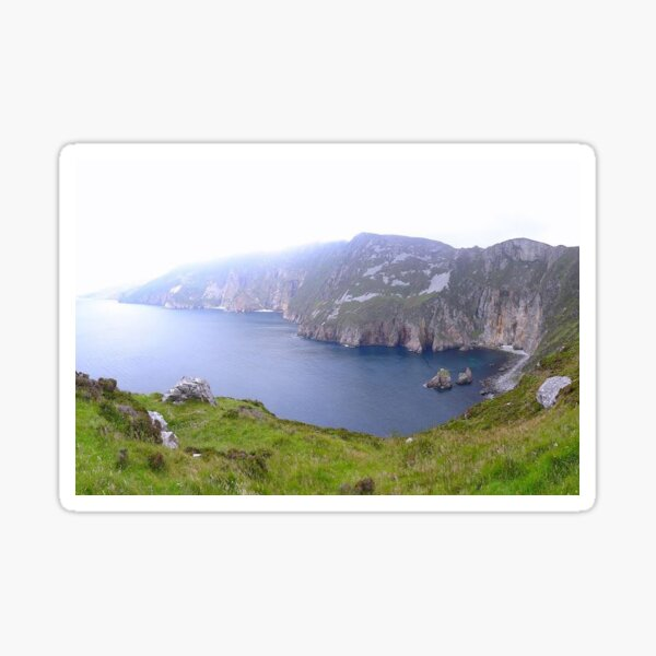 Slieve League trail, Ireland Sticker