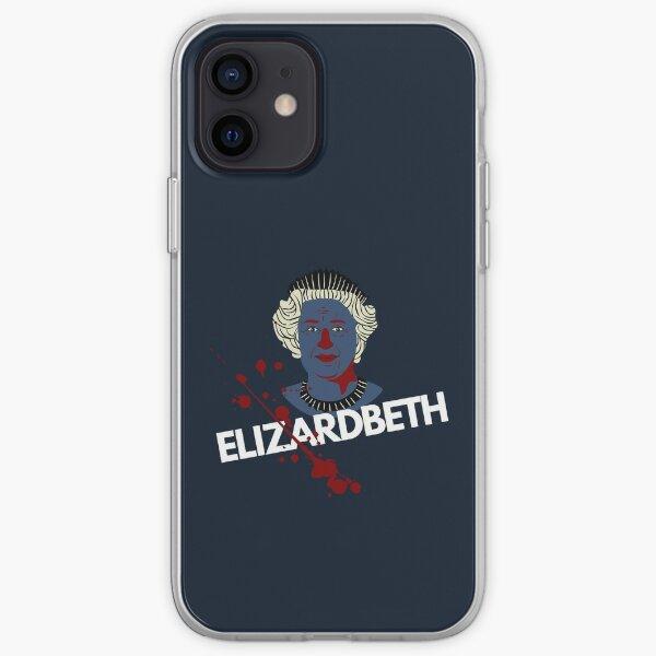 E Lizard BETH The Shapeshifting Reptilian Queen iPhone Soft Case
