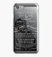 The Crazy Ones iPhone Case/Skin