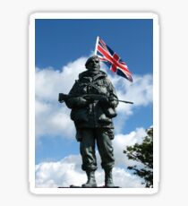 Royal Marines Statue, Portsmouth Sticker