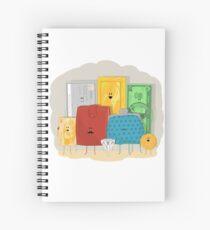 A Precious Family Spiral Notebook