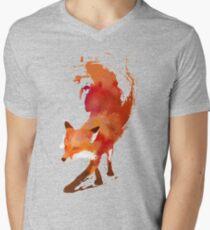 Vulpes Vulpes Men's V-Neck T-Shirt
