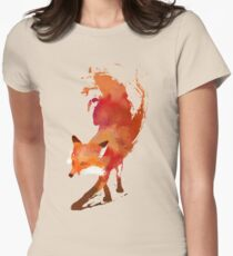 Vulpes Vulpes Women's Fitted T-Shirt