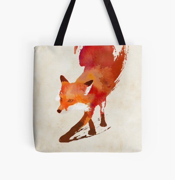 Vulpes Vulpes All Over Print Tote Bag